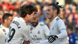 Odriozola Gareth Bale Huesca Real Madrid LaLiga 09122018