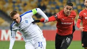 Hatem Ben Arfa Dynamo Kyiv Rennes UEFA Europa League 08112018