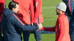 Unai Emery Neymar PSG