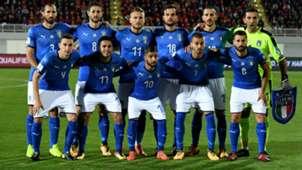 Italy team vs Albania