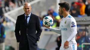 Marco Asensio Zinedine Zidane APOEL Real Madrid UCL 21112017