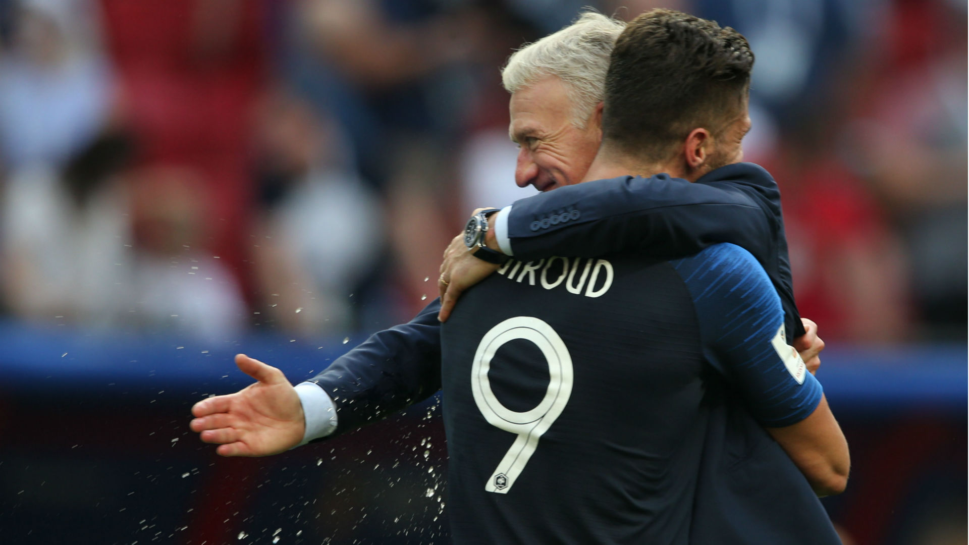 Deschamps Giroud França Copa do Mundo 17 07 2018