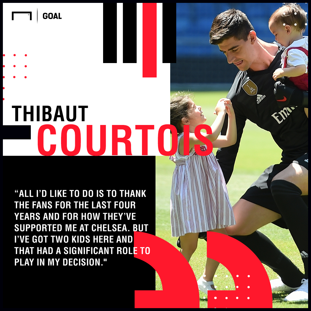 Thibaut Courtois Real Madrid Chelsea kids PS