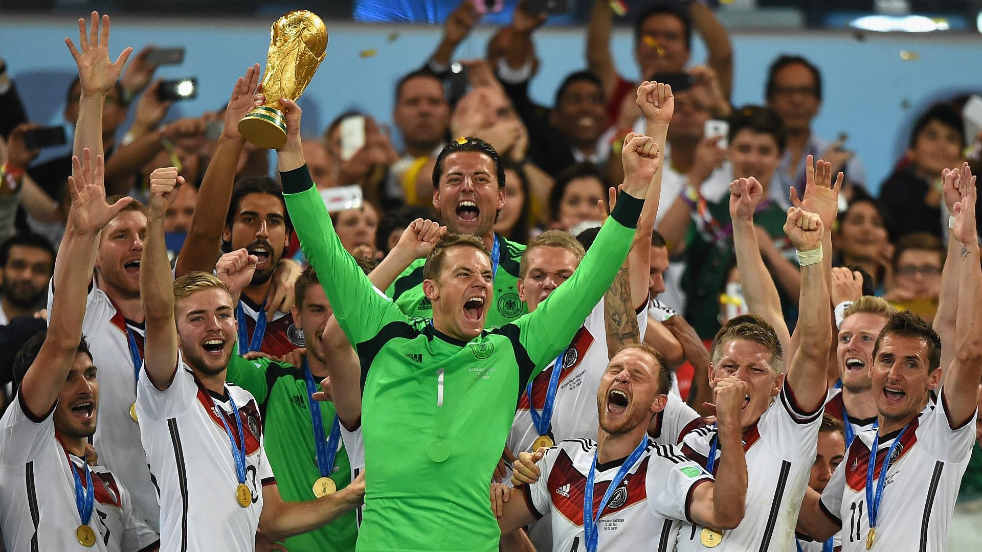 Manuel Neuer Alemanha campeã Copa do Mundo 2014