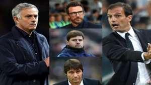 Allegri Conte Mourinho
