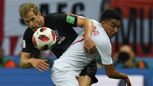 croatia england - ivan strinic jesse lingard - world cup - 11072018