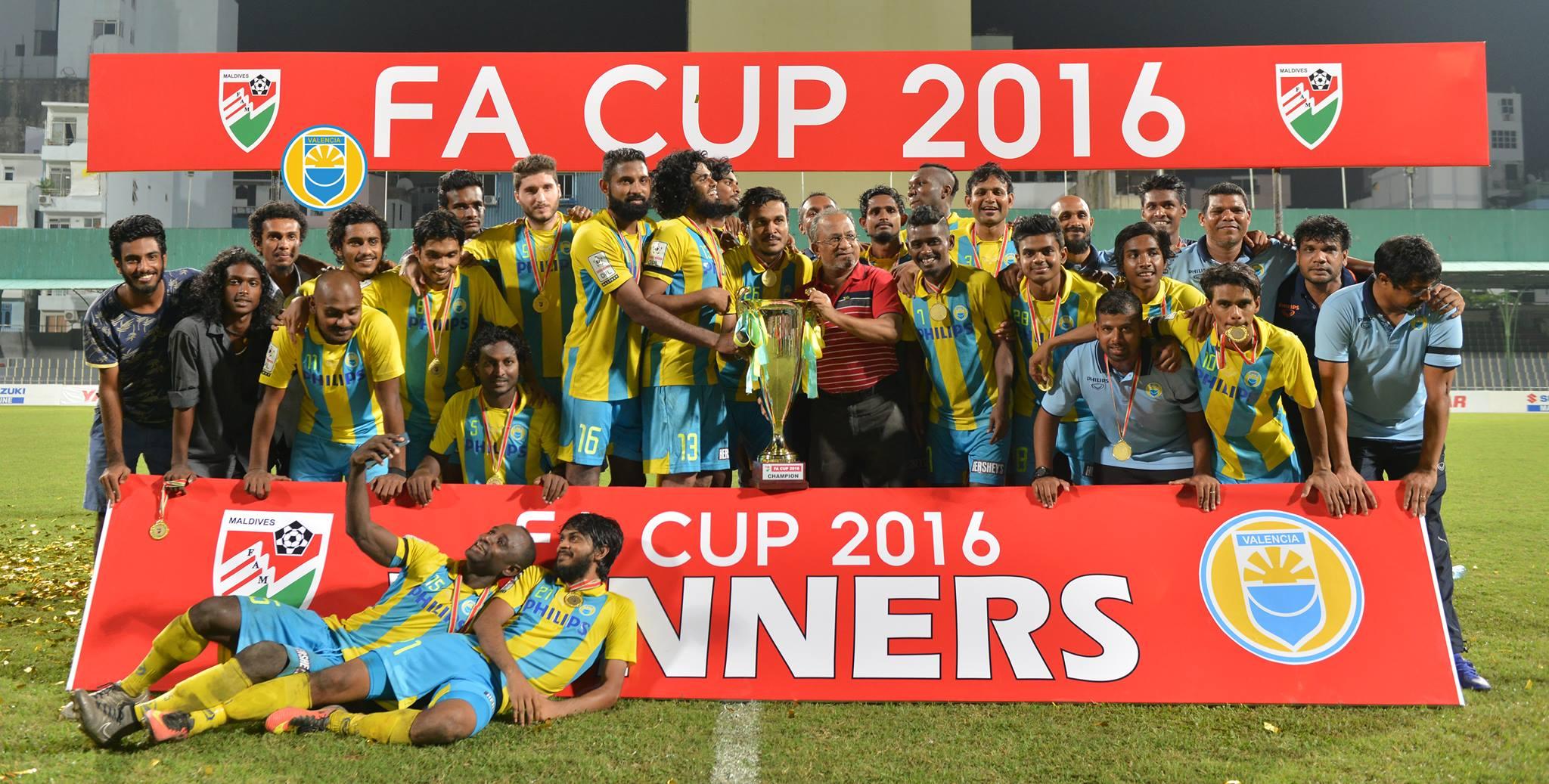 Club Valencia Maldives FA Cup 2016
