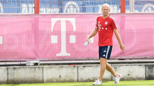 Arjen Robben, Training, FC Bayern, 07102017