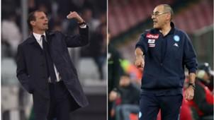 Allegri Sarri Napoli-Juventus