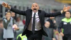 Luciano Spalletti Roma coach