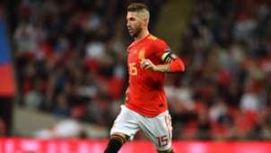 Sergio Ramos Inglaterra España England Spain Nations League 08092018