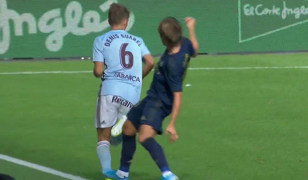 Ramos entendió la roja a Modric