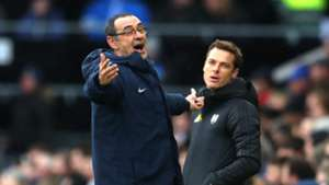 Maurizio Sarri Scott Parker Chelsea Fulham Premier League 030319