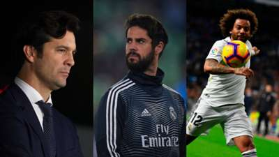 GFX Info Solari, Isco and Marcelo with Real Madrid