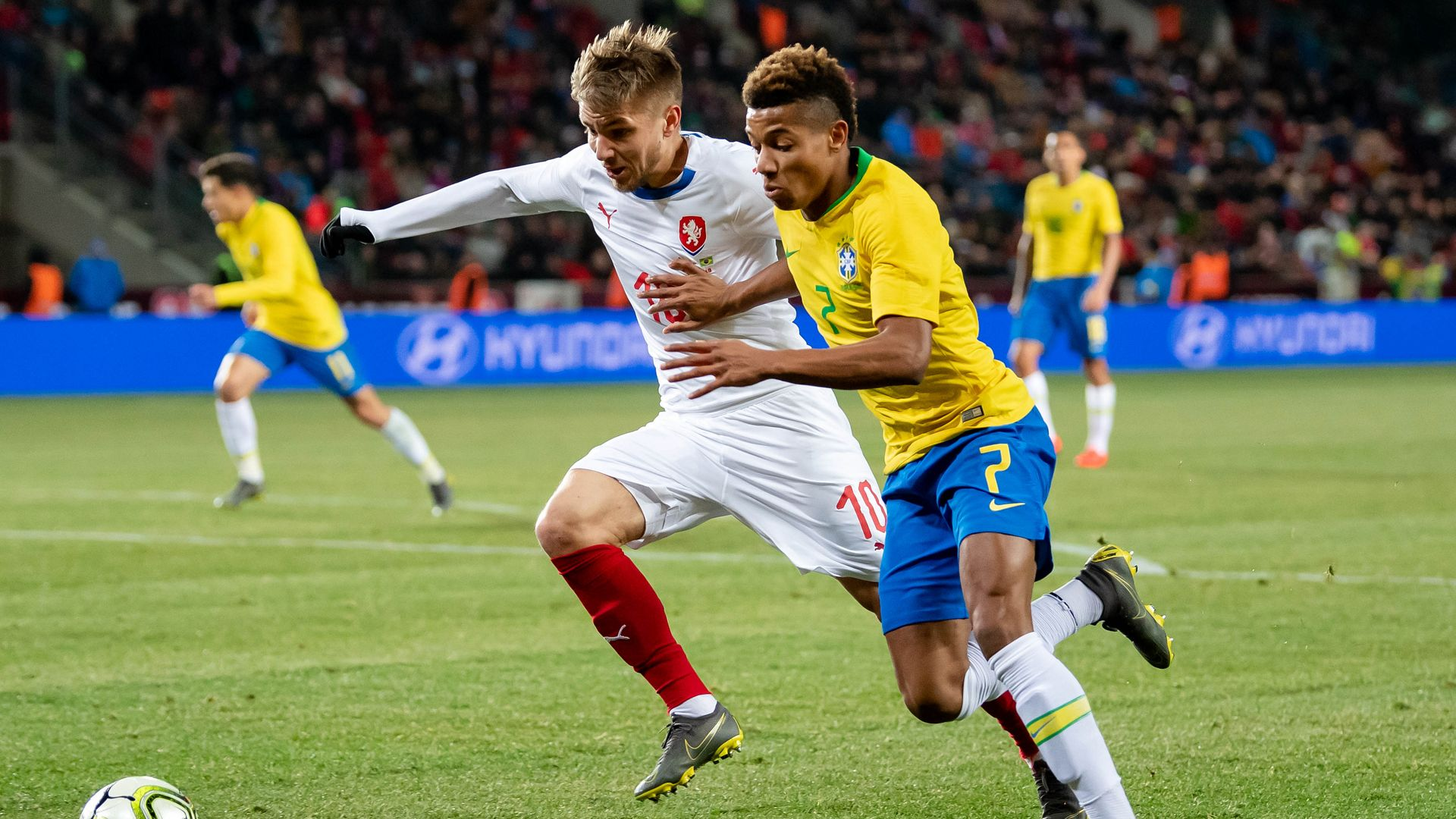 David Neres Brazil Czech Republic Friendly 26032019 Selecao