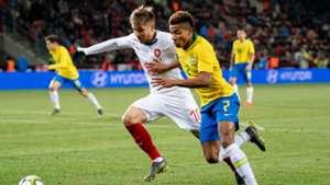 David Neres Brazil Czech Republic Friendly 26032019 Selecao