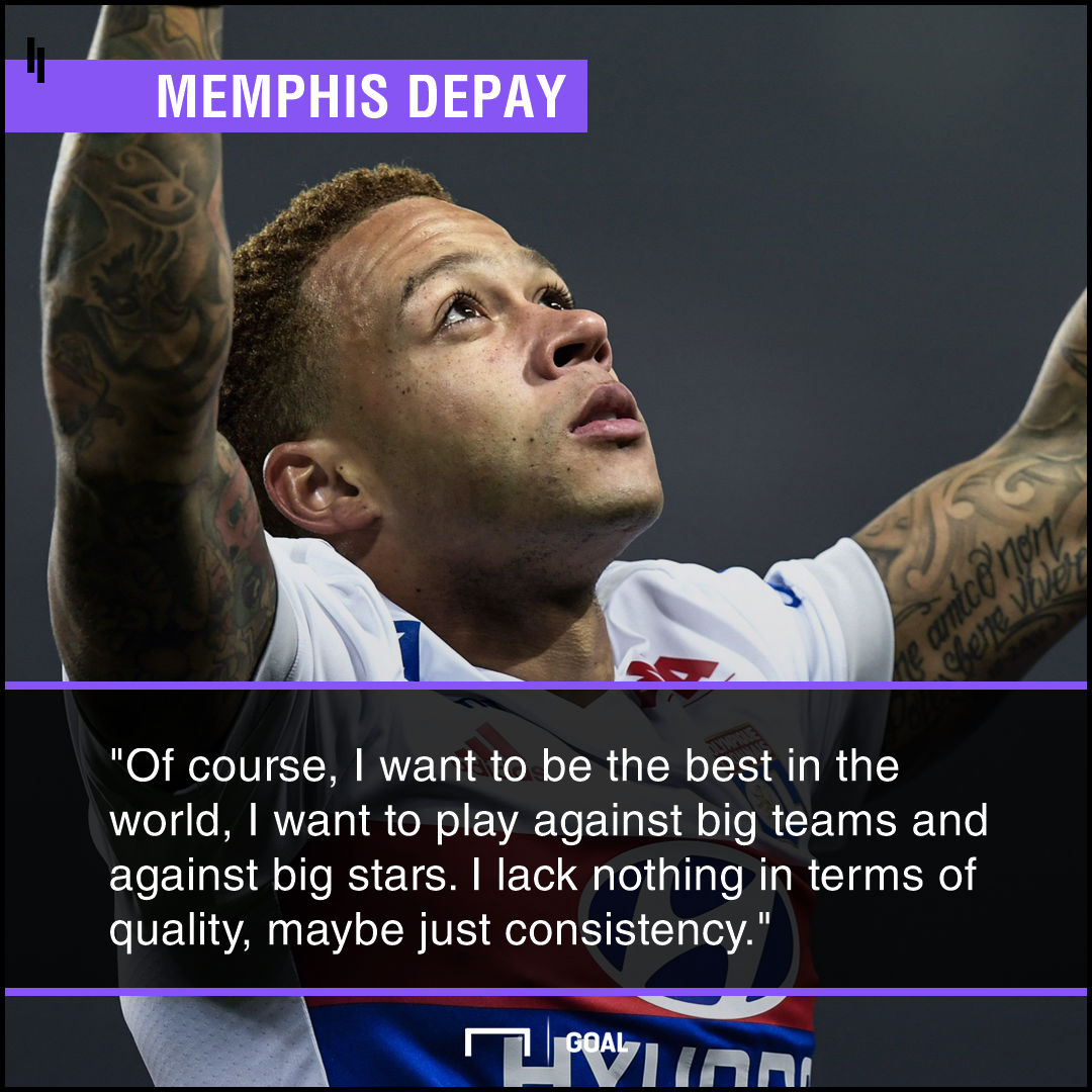 Can Memphis Depay still become 'best in the world'?