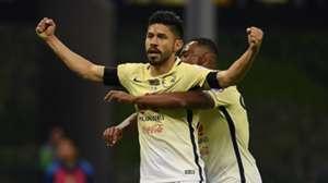 Oribe Peralta William Da Silva Club America Liga MX Liguilla 12042016
