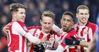 Luuk de Jong, PSV - PEC Zwolle, Eredivisie, 03022018