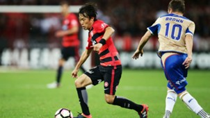 Jumpei Kusukami Western Sydney Wanderers v Newcastle Jets A-League 23102016