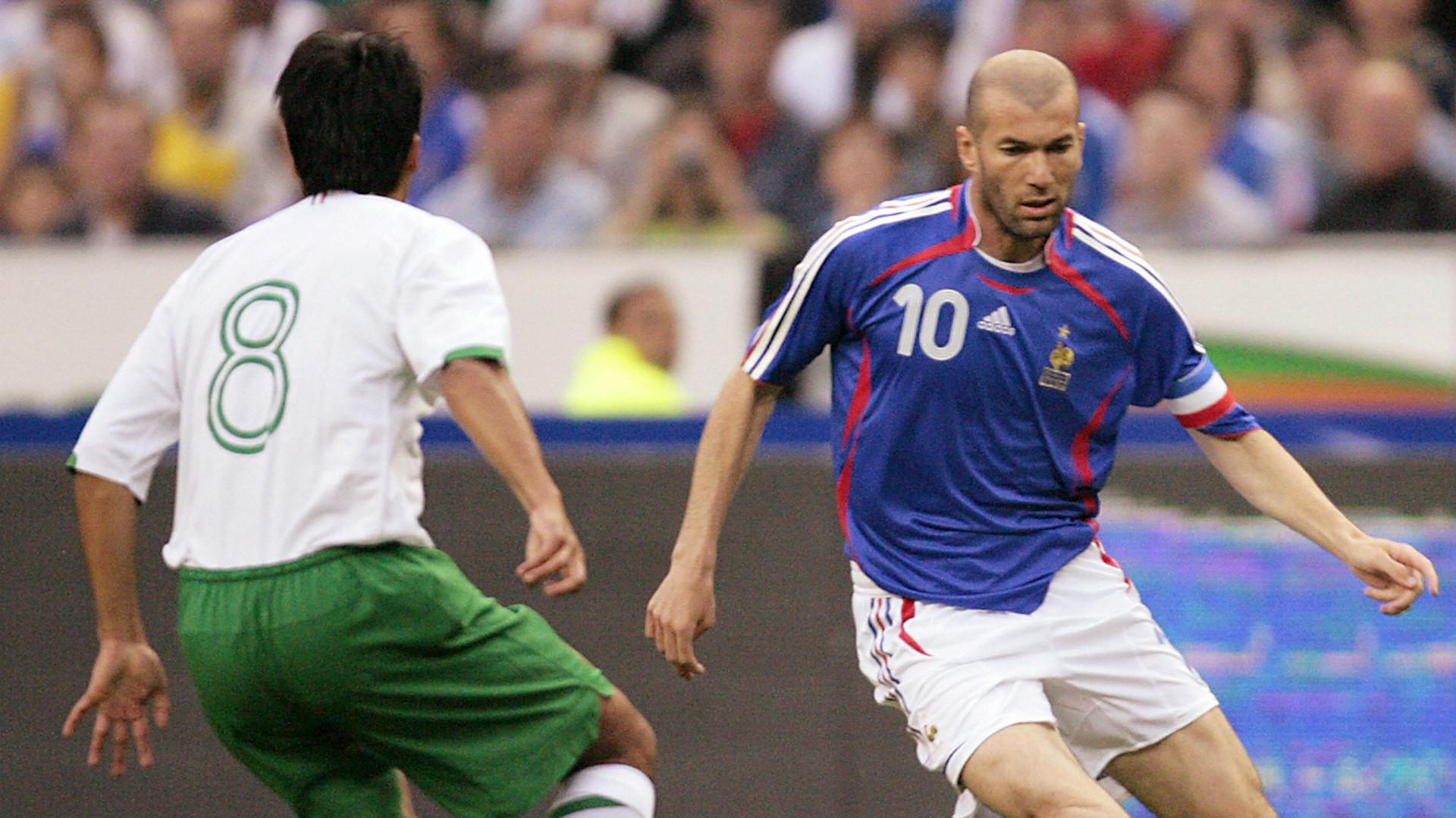 Pavel Pardo Mexico Zinedine Zidane France
