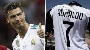 Cristiano Ronaldo Real Madrid Juventus 2017-18