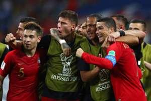 Cristiano Ronaldo Portugal Espagne