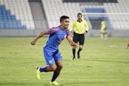 Sunil Chhetri India Oman