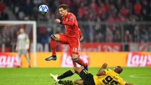 Leon Goretzka FC Bayern München Champions League 07112018