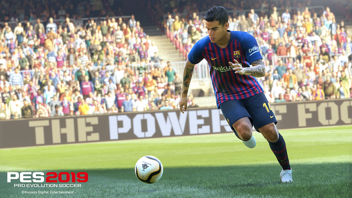 Pes 2019 Release Date Cost Consoles Licenses All The New Pro Sony Ps4 Evolution Soccer 2017 Embed Only Philippe Coutinho