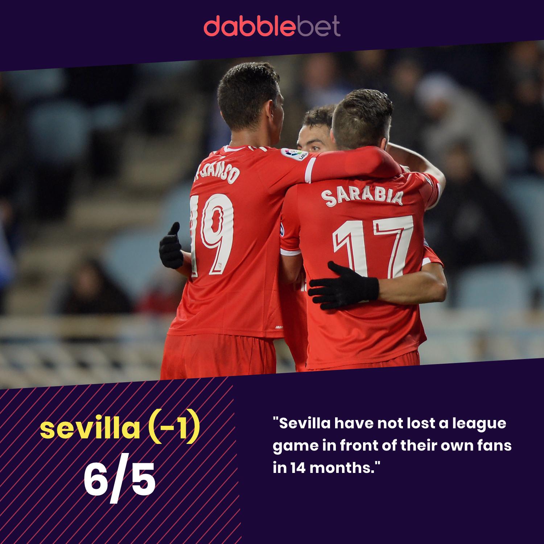 Sevilla Real Betis graphic