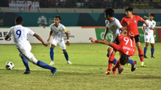Adam Nor Azlin, Malaysia U23, South Korea U23