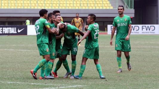 Selebrasi Bhayangkara FC - Guy Junior