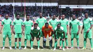 Gor Mahia squad v AFC Leopards.