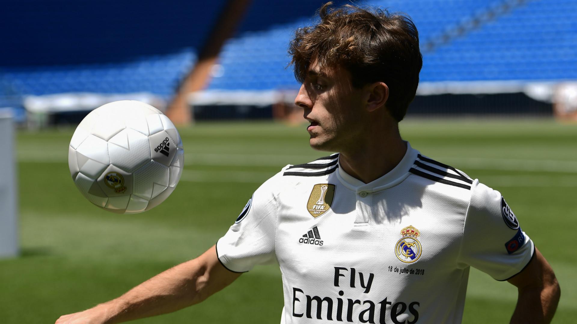 Odriozola Real Madrid