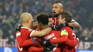 Kingsley Coman Bayern Munchen Besiktas Champions League 20022018