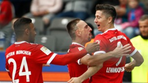 Hertha BSC FC Bayern Bundesliga Lewandowski Ribery Tolisso 20171001