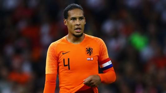 Virgil Van Dijk Netherlands 2018
