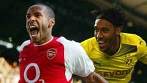 Thierry Henry Pierre-Emerick Aubameyang