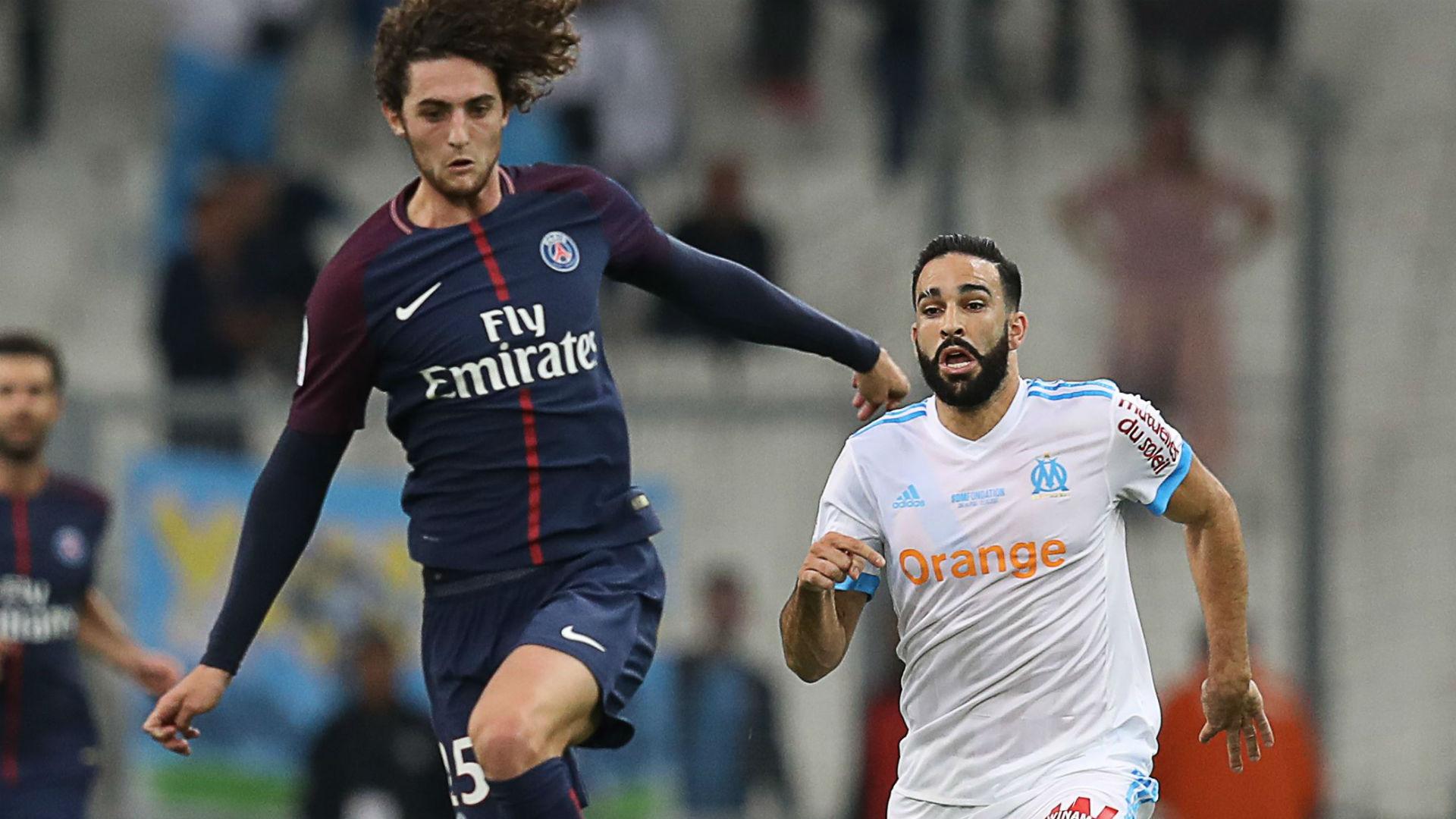 Adrien Rabiot Marseille PSG Ligue 1 22102017