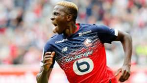 Victor Osimhen: Lille striker equals Mario Balotelli's Ligue 1 record