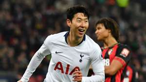 Heung Min Son Tottenham Bournemouth