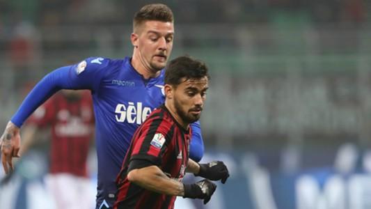 Suso Milinkovic Savic Milan Lazio Coppa Italia