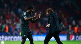 Michy Batshuayi Antonio Conte Chelsea Atletico Madrid