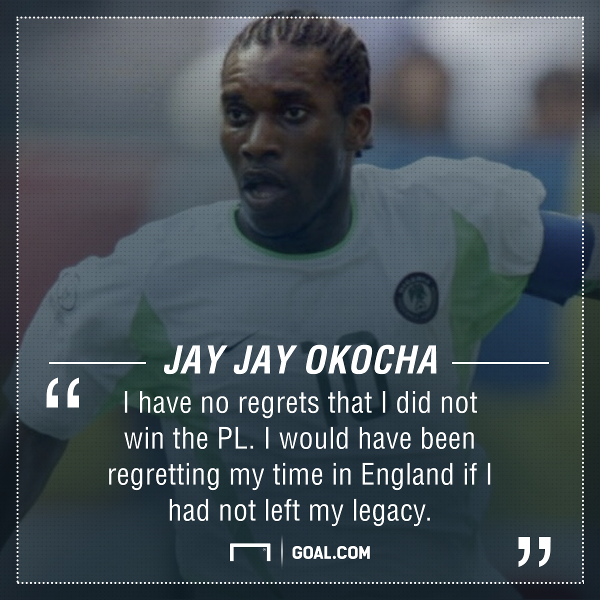 Okocha on his PL time