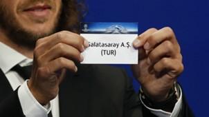 Galatasaray Champions League draw