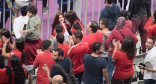 Egyptian fans Girls dancing
