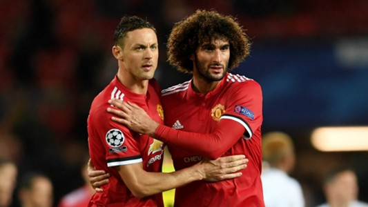 Nemanja Matic Marouane Fellaini Man Utd 2017