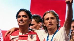 Zlatko Dalic Luka Modric Croatia 2018