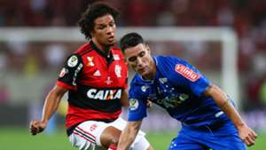 Willian Arão Thiago Neves Flamengo Cruzeiro Copa do Brasil 07 09 2017